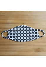 Cotton Face Mask - Acadiana Checkerboard