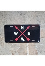Compass License Plate