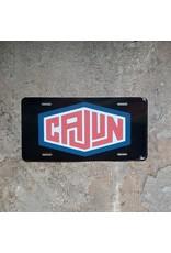 Cajun Logo License Plate