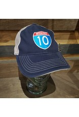 Interstate 10 Unstructured Trucker Hat