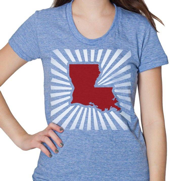 Louisiana Power Womens Tee