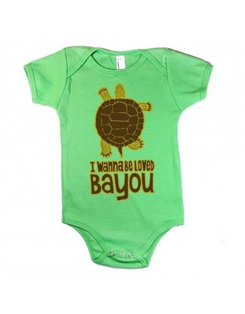 I Wanna Be Loved Bayou Onesie