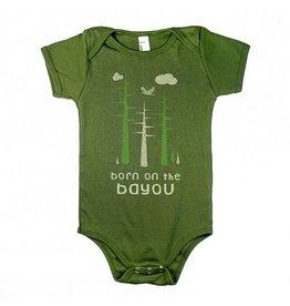 Born on the Bayou Baby Onesie