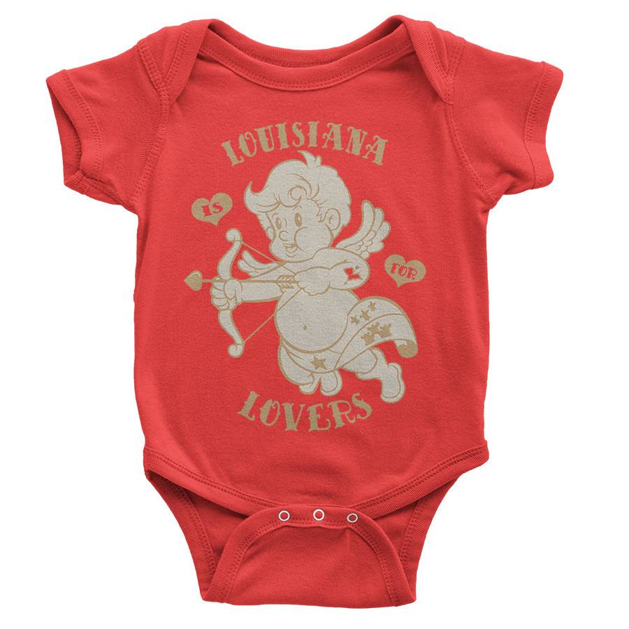Louisiana is for Lovers Onesie