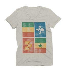 Creole Flag Womens Tee