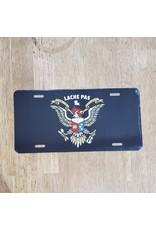 Lache Pas License Plate