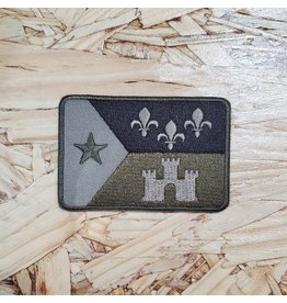 Camo Acadian Flag Patch