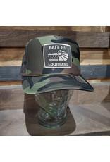 Fait en Louisiane Camo Trucker Hat
