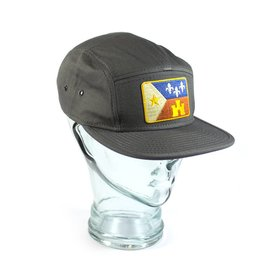 Acadian Flag Camp Hat Gray
