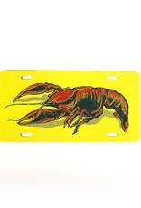 Crawfish License Plate
