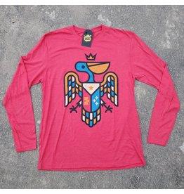 Pelican Crest Mens LS Tee
