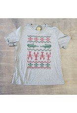 Cajun Christmas Womens Relaxed Fit Tee
