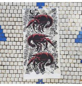 Crawfish News Tea Towel