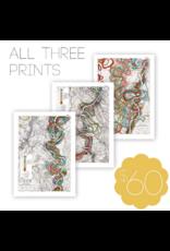 Meandering Mississippi River Print Bundle