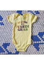 Allons au Mardi Gras Baby Onesie