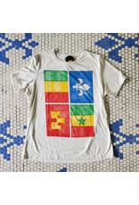Creole Flag Womens Relaxed Fit Tee