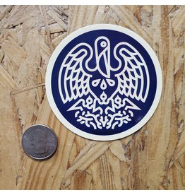 State Seal Icon Sticker