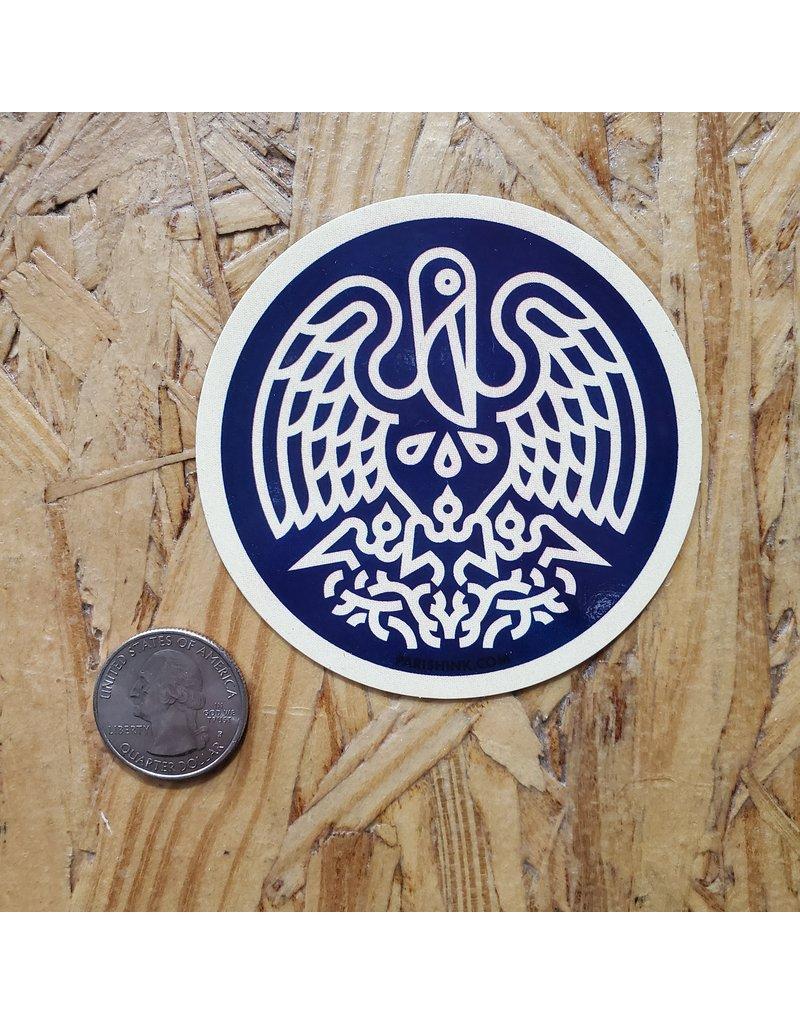 State Seal Icon Sticker