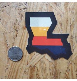LA Stripes Sticker