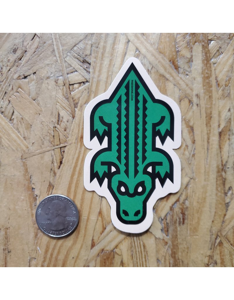 Gator Icon Sticker