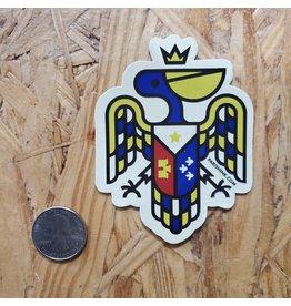 Pelican Crest Sticker
