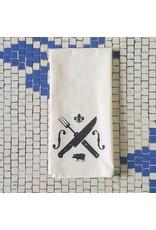 Food & Music Tea Towel