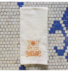 My Sunshine Tea Towel