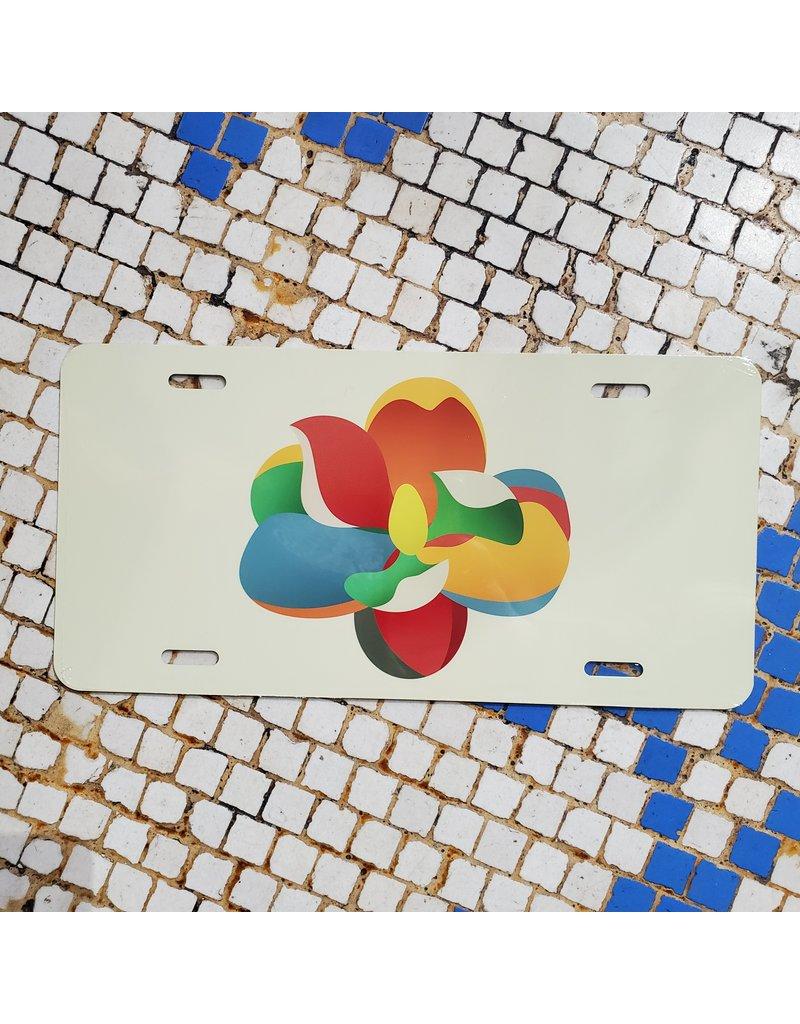 Bloom License Plate