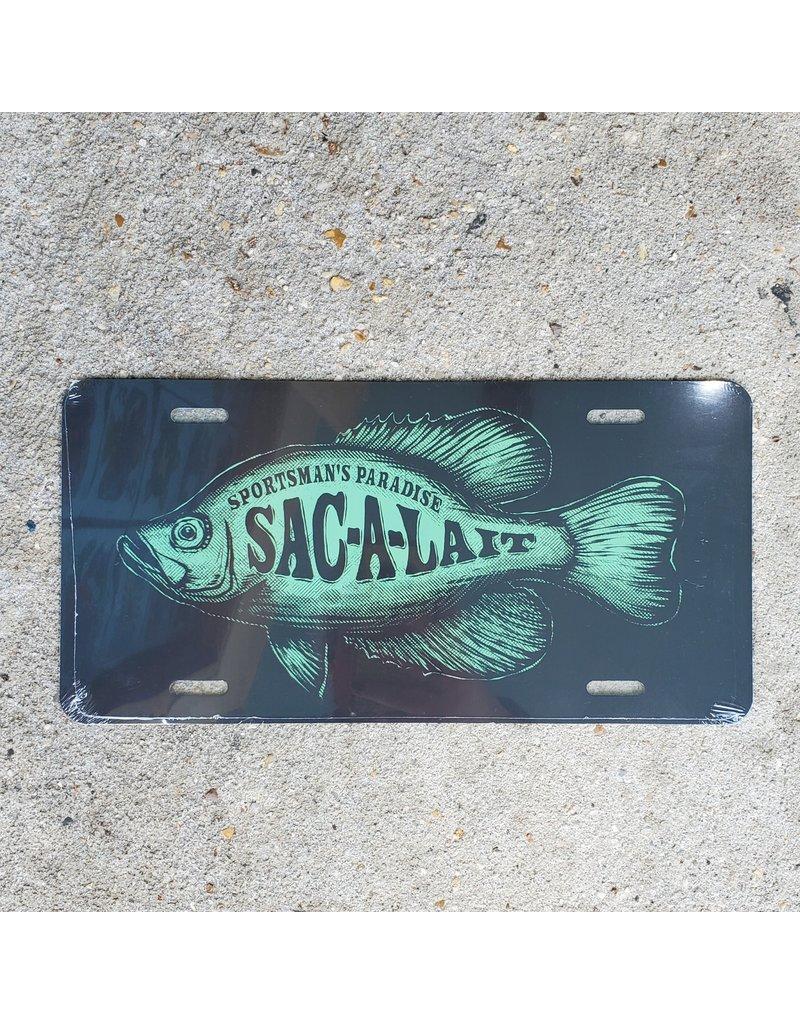 Sac-A-Lait License Plate