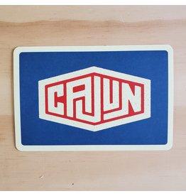 Cajun Logo Postcard
