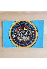 New Orleans Water Meter Postcard
