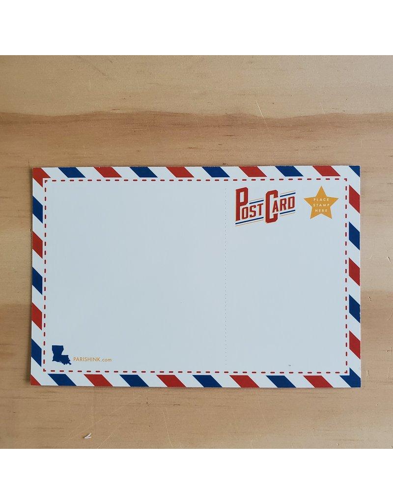 Lache Pas Postcard