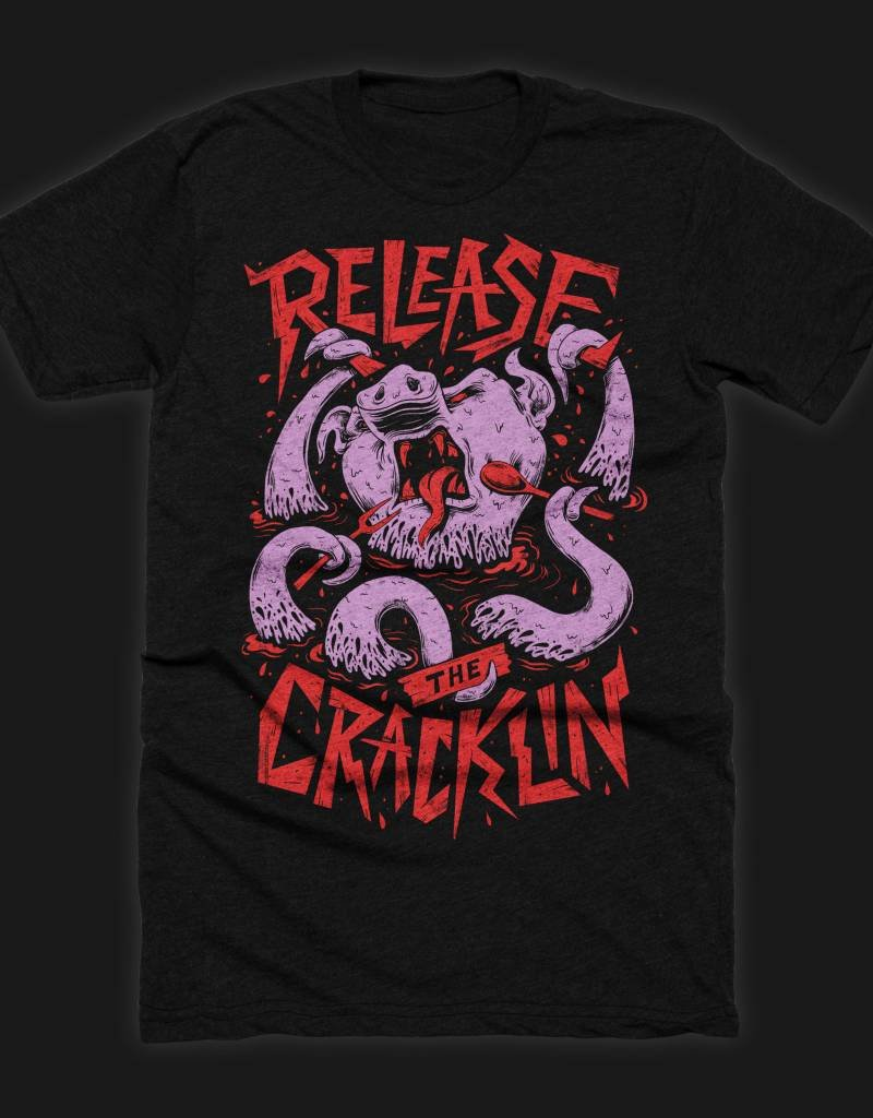 Release the Cracklin Womens Tee