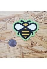 Honeybee Icon Sticker