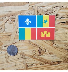 Creole Flag Sticker