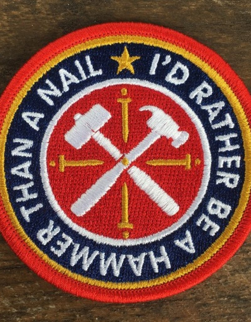 Be a Hammer Patch