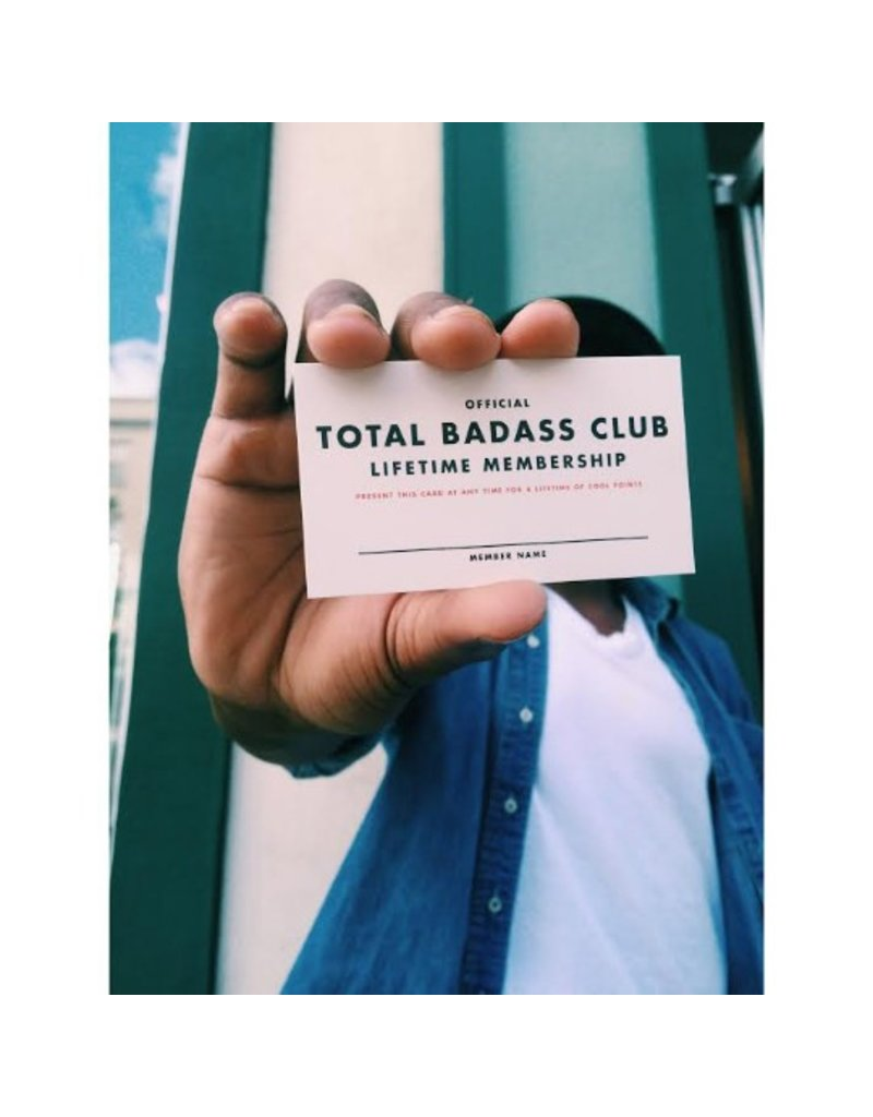 Membership: Badass Mini Card