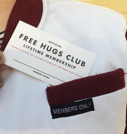 Membership: Free Hugs Mini Card