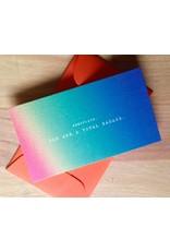 Newsflash: TOTAL BADASS Mini Card