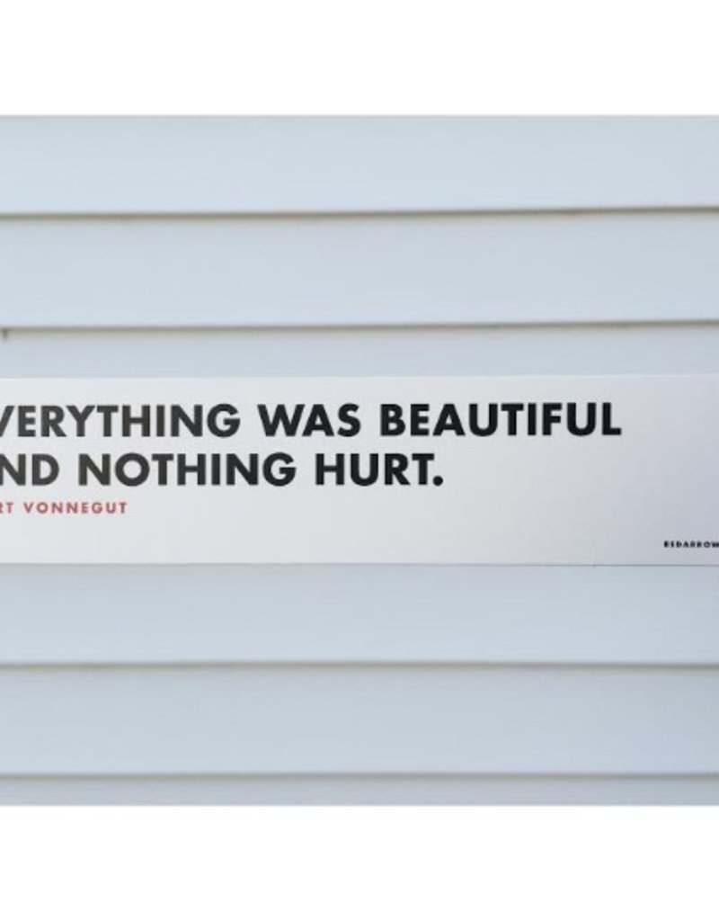 Nothing Hurt Bookmark