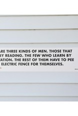Pee on the Electric Fence Bookmark