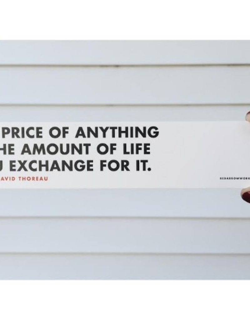 Price of Anything Bookmark