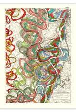 Meandering Mississippi River Print #11