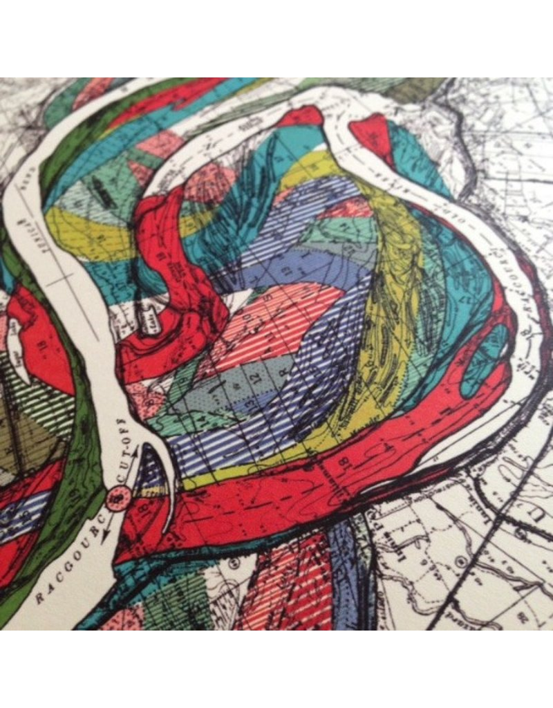 Meandering Mississippi River Print #14