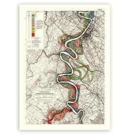 Meandering Mississippi River Print #15
