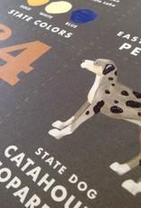 Louisiana State Symbols Art Print