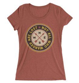 Not All Who Wander Are Lost Womens Tee