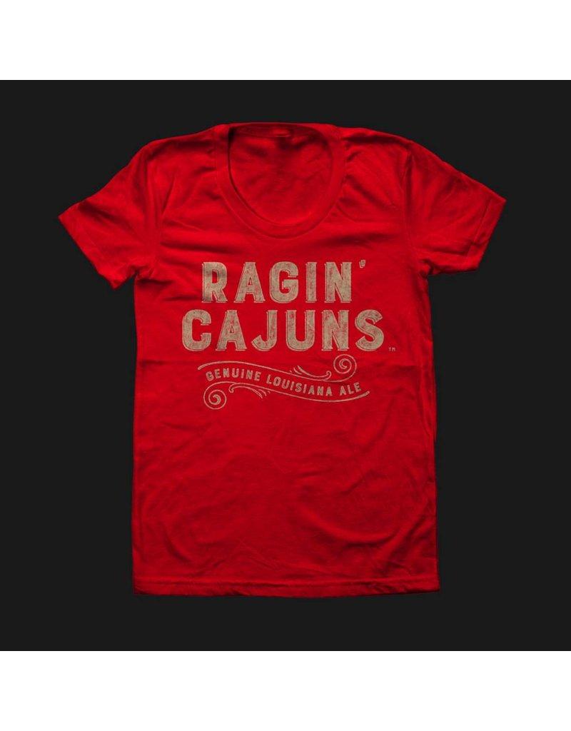 Ragin Cajuns Ale Womens Tee