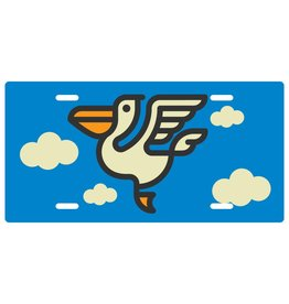 Pelican Icon License Plate