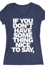 Say It In French Womens Tee